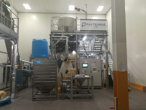 Pasteurise Ltd machine